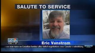 Fort Wayne's NBC: Salute to Fort Wayne Air Traffic Controller Eric Vanstrom