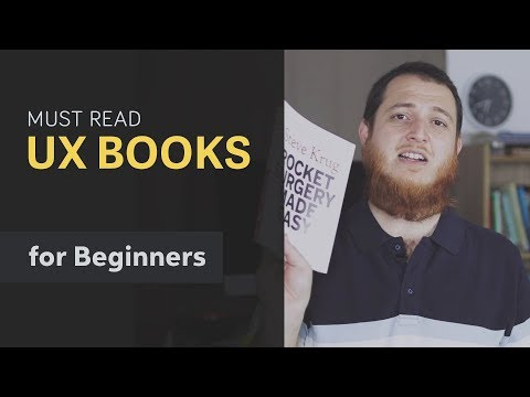 UX Book for Beginners → 3 Books every User Experience Designer must read