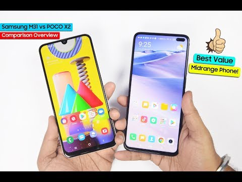 Samsung M31 Vs POCO X2 Comparison Overview - Kharidne Se Pehle Sach Jaan Lo!!