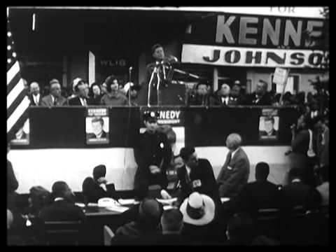 JFK campaign, civil rights 1960