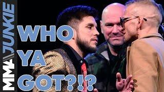 Who Ya Got?!? Cejudo vs  Dillashaw