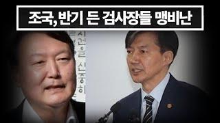 과거에는 '정의' 지금은 '위법'이라구욧, 조국, 반기 든 검사장들 맹비난
