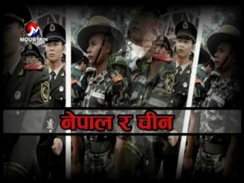 चीन र भारतले नेपाल सयुक्त सैन्य अभ्यास गर्दै  || Aajako Sandharba,Poush 18 2073