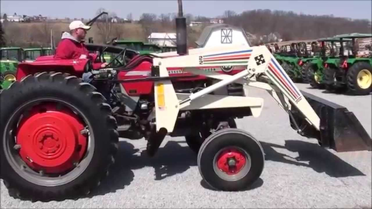 mf 165 tractor with loader for sale by mast tractor youtube. Black Bedroom Furniture Sets. Home Design Ideas
