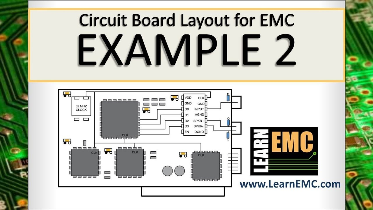 Circuit Board Layout for EMC: Example 2 - YouTube