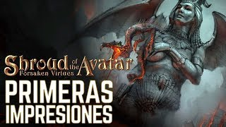 SHROUD OF THE AVATAR | PRIMERAS IMPRESIONES: MMORPG FREE TO PLAY - DIRECTO