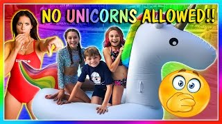 We get a huge unicorn float, but our local splash water park might ...