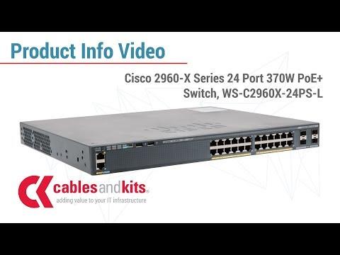 Product Info: Cisco 2960-X Series PoE+ Switch, WS-C2960X