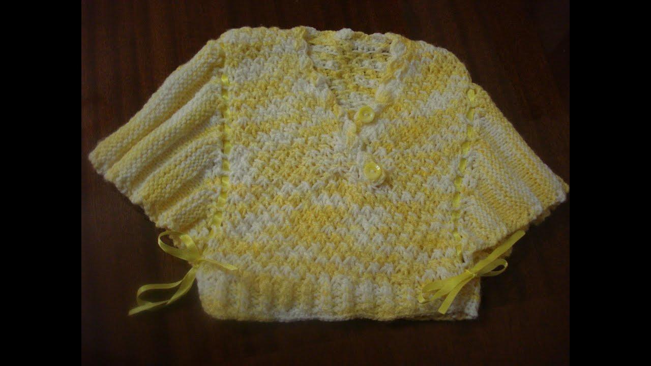 2 agujas poncho o capa tejido parte 1 de 2 viyoutube - Bolsa para guardar agujas de tejer ...