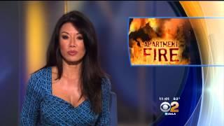 Sharon Tay 2015/07/16 CBS2 Los Angeles HD