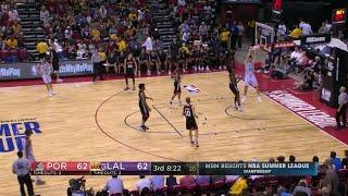 Quarter 3 One Box Video :Lakers Vs. Trail Blazers, 7/16/2017