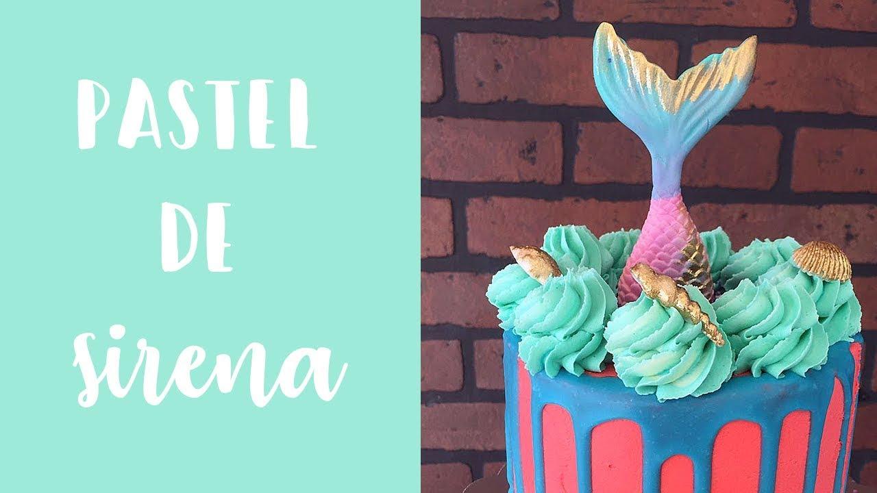 Haz Un Pastel De Sirena Decoración