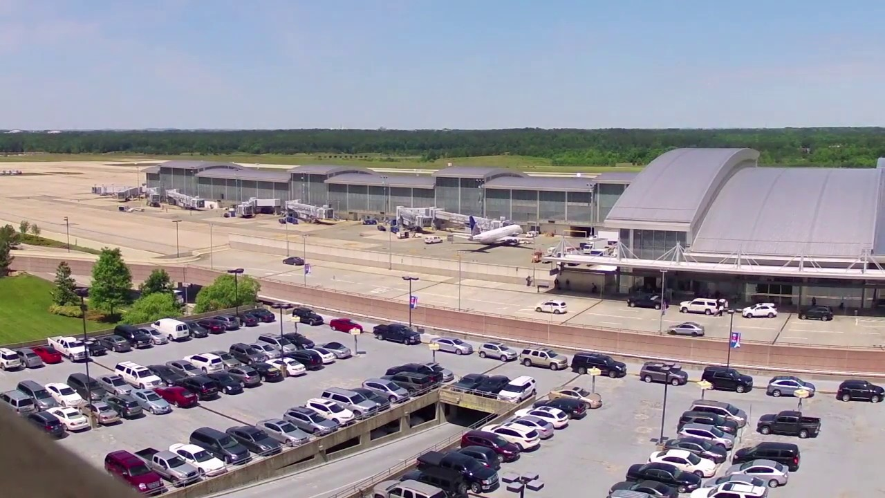 Garage Parking Stop >> ParkRDU Overview: Learn About Parking at RDU Airport - YouTube