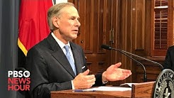 WATCH: Texas governor Greg Abbott gives coronavirus update -- March 19, 2020