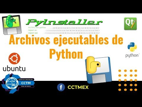 Archivo ejecutable en Python   Ubuntu   PyInstaller  PyQT5  Python   ¡Muy fácil!