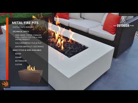 Metal Fire Pits by The Outdoor Plus