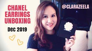 Chanel Earrings Unboxing Dec 2019