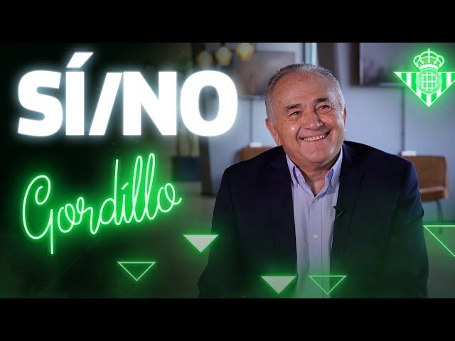 ¡RETO de SÍ/NO con RAFAEL GORDILLO! 😁🔥 | CHALLENGE | Real Betis Balompié