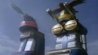 Power Rangers Zeo - All Megazord Transformations