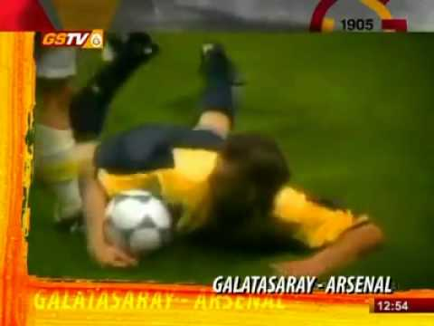 Galatasaray-Arsenal Uefa Cup 17 May 2000