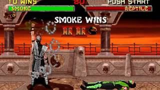 UMKTE2 Ultimate Mortal Kombat 2 Tournament Edition Real Smoke