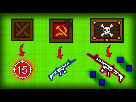 Surviv.io MOST OVERPOWERED COMBO IN THE GAME!! Surviv.io Double Scar Gameplay Highlights Montage!
