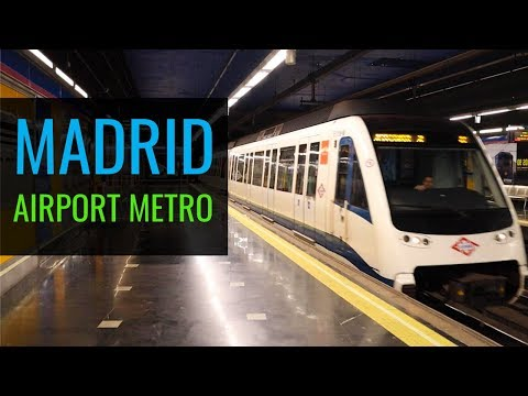 Train From Airport To Madrid - Barajas To City Center