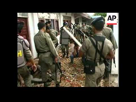 INDONESIA: LOMBOK: MUSLIM/CHRISTIAN VIOLENCE ERUPTS
