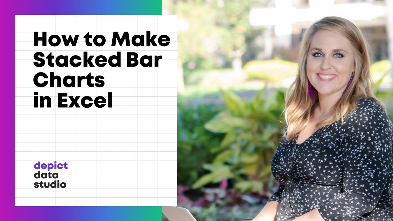 stacked bar excel