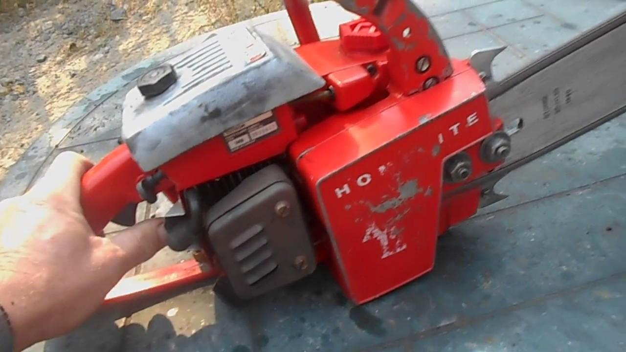 Homelite xl Chainsaw manual 10618
