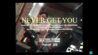 Jozé & Cold B - Never Get You (Official Music Video ) | ( Prod. VAL )