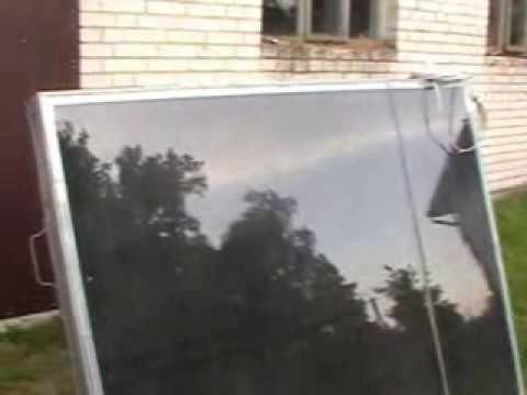 Najnowsze Kolektory słoneczne własnej roboty za 200zł pln Jak zrobić tani WZ07