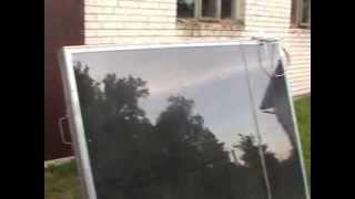 Kolektory słoneczne własnej roboty za 200zł pln Jak zrobić tani