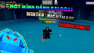 ROBLOX-Dungeon Quest   Sweeps his Boss Winter Nightmare Hardcore 1   CHG