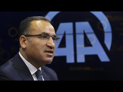Başbakan Yardımcısı ve Hükümet Sözcüsü Bekir Bozdağ, Anadolu Ajansı Editör Masası'nın konuğu