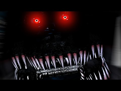 Five Nights at Freddy's 4 Night 7 COMPLETE | TRUE ENDING IN FNAF 4 DLC?