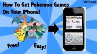 How to get Pokemon Games on your IPhone Without Jailbreaking! - GBA4IOS