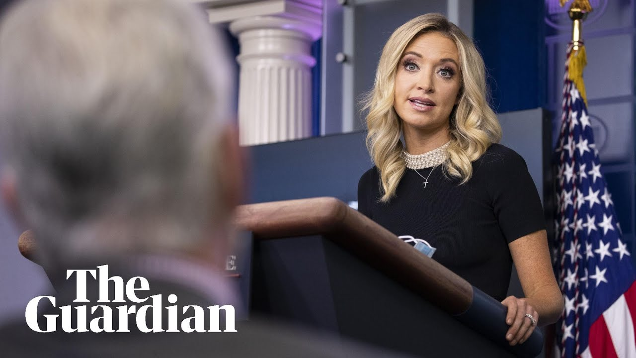 'Perhaps you should look into it': Kayleigh McEnany dodges Obamagate question – Guardian News