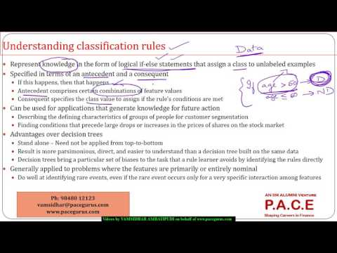 Classification Using Rules