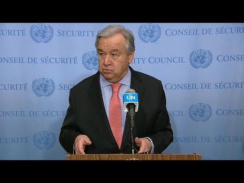 الأمين العام للأمم المتحدة يدعو إلى وضع حدّ للمعاناة الإنسانية في إدلب…  - 23:58-2020 / 2 / 21