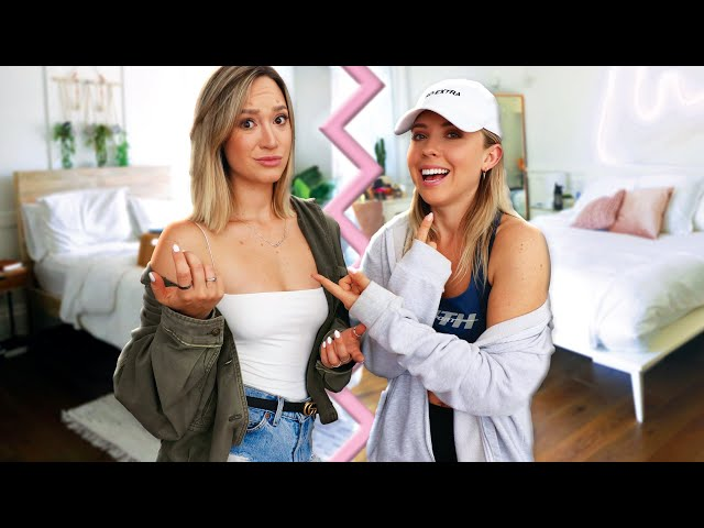Switching Rooms With My Sister for 24 Hours Challenge!!   *i pranked her good