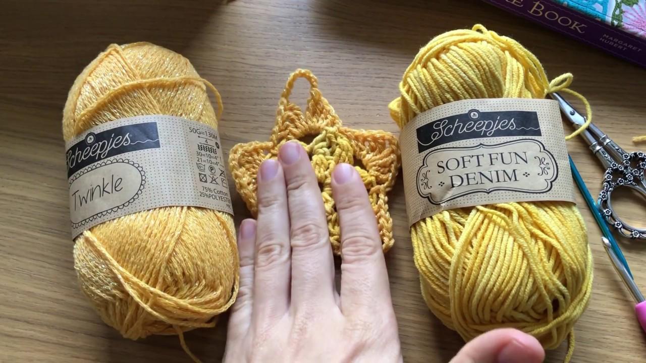 Haak Tutorial Kerstster Hanger Haken Christmas Crochet Youtube