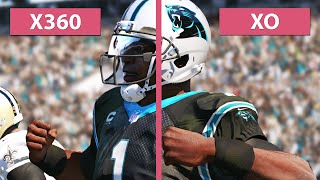 Madden NFL 15 - Xbox One vs.  Xbox 360 Graphics Comparison
