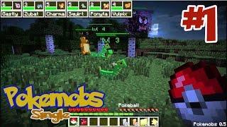 Minecraft Pokemobs (มายคราฟ โปเกม็อบ) #1 เริ่มต้นในโลก โปเกม่อน !