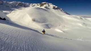 Freeride Snowboard Artesina Mondolè GoPro HD 720 Powder