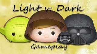Line Disney Tsum Tsum - Light v.s. Darkness