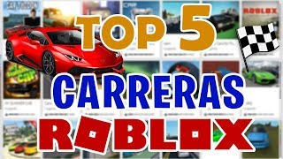 THE BEST RACE GAMES in ROBLOX - TOP 5