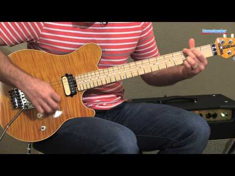 Music Man Axis Electric Guitar Demo - Sweetwater Sound