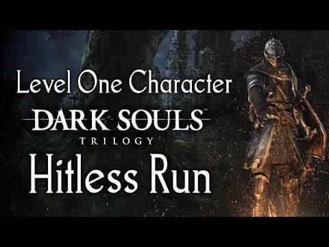 WORLDS FIRST (NO LEVELING) 0 HIT RUN - DARK SOULS TRILOGY