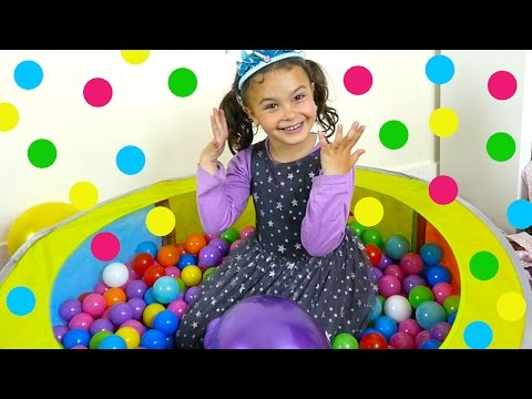 Ball Pit Surprise Toys Fun for Kids - Frozen, Chewbacca Mom, Peppa Pig, Thomas